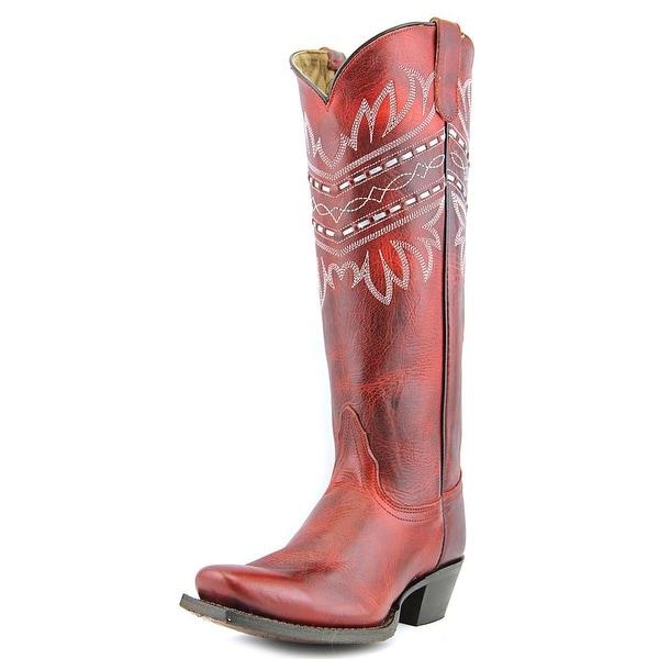 Tony Lama VF3044   Round Toe Leather  Western Boot