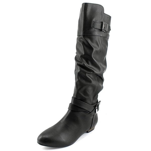 Material Girl Cresta Women Black Boots