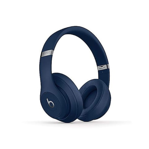 Beats Studio3 Wireless Over Ear Headphones - Blue (Latest Model)