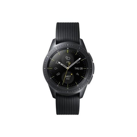 Samsung Galaxy Watch 42MM R810 - Midnight Black (Certified Refurbished) (International Variant/US Compatible) - Midnight Black