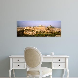 Easy Art Prints Panoramic Images's 'High angle view of buildings in a city, Acropolis, Athens, Greece' Canvas Art