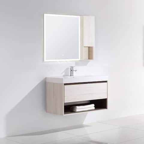 """Laila 36"""" Single Bathroom Vanity Set"""