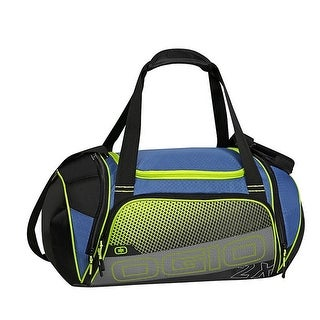 Ogio Endurance 2X Duffel Gym Bag 720659-02 Navy/Acid