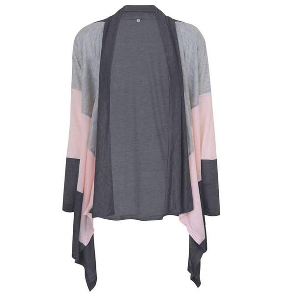 Fashion Womens Autumn Winter Cardigan Coat +Gift Necklace