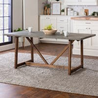 Buy Rustic Kitchen Dining Room Tables Online At Overstock Our Best Dining Room Bar Furniture Deals