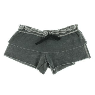 Paper Heart Womens Knit Heathered Casual Shorts