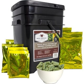 Wise prepared meals 40-60120 wise vegetables & sauces 120 serving bucket