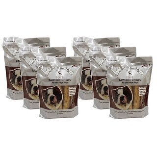 Tartar Shield Soft Rawhide Chews for Extra Large Dogs 12 Count 6 Pack