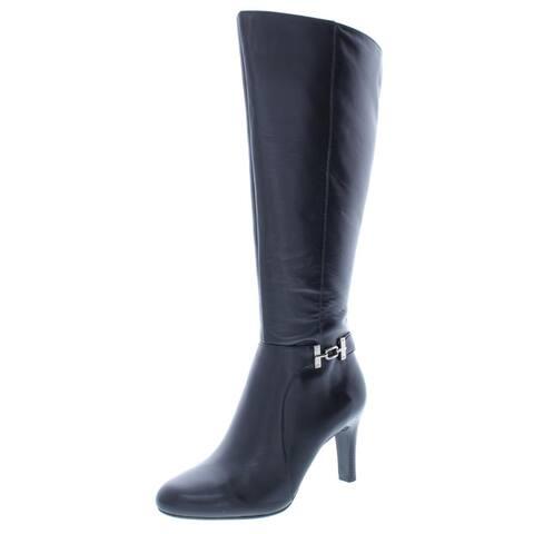 Bandolino Womens Lamari Dress Boots Wide Calf