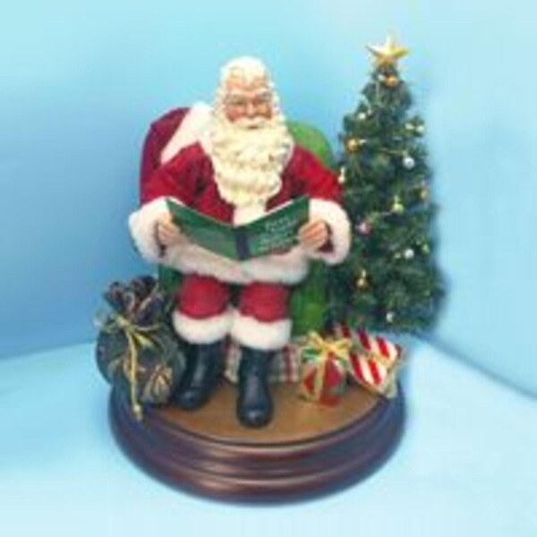 "8"" Fabriché ""Twas the Night Before Christmas"" Santa Claus Figure"