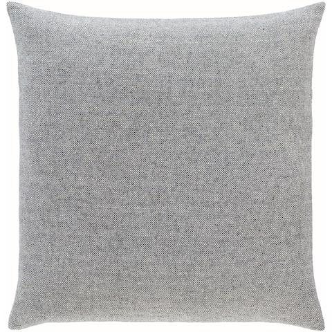 Breman Houndstooth Wool Blend Throw Pillow