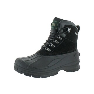 Fuda Mens Pac Snow Boots Thinsulate Cushioned