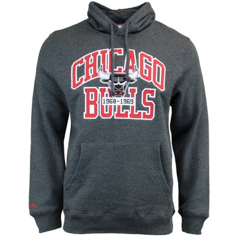 Mitchell & Ness Playoff Win Hoodie, Chicago Mens Hoodie Fleece