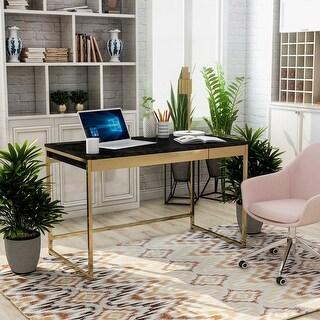 Furniture of America Arthur Modern Copper Tone 2-drawer Desk