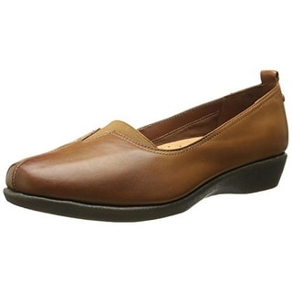 Hush Puppies Womens Pearl Carlisle Leather Slip On Loafers