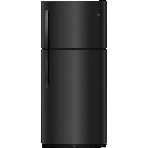 Frigidaire FFTR2021TB 20.4 Cu. Ft. Top Freezer Refrigerator - Black