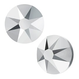 Swarovski Elements Crystal, Round Flatback Rhinestone SS20 4.6mm, 50 Pieces, Crystal Light Chrome F