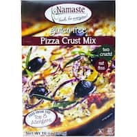 Namaste Foods Gluten Free Pizza Crust - Mix - Case of 6 - 16 oz.