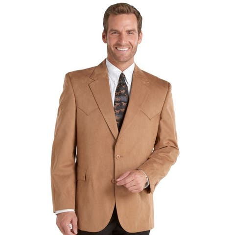 Circle S Western Sport Coat Mens Houston Pointed Yoke