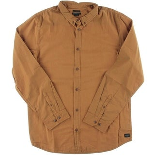 O'Neill Mens Cotton Tailored Fit Button-Down Shirt