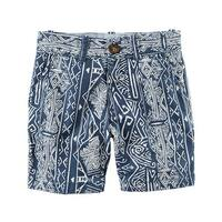 Carter's Little Boys' Printed Flat-Front Canvas Shorts, 3-Toddler