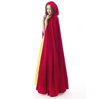 Little Adventures 55020 One Size Adult Cloak, Red