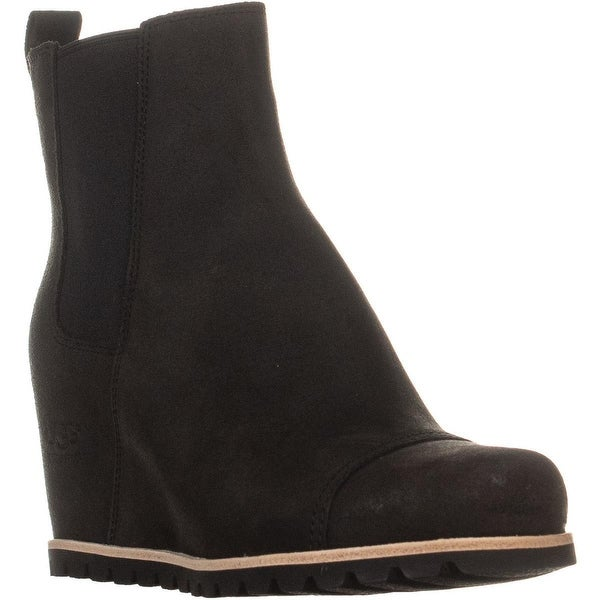 90300340f16 Shop UGG Augstralia Pax Wedge High Ankle Boots, Black - 7.5 us ...