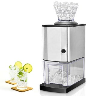 Costway Electric Stainless Steel Ice Crusher Shaver Maker Machine