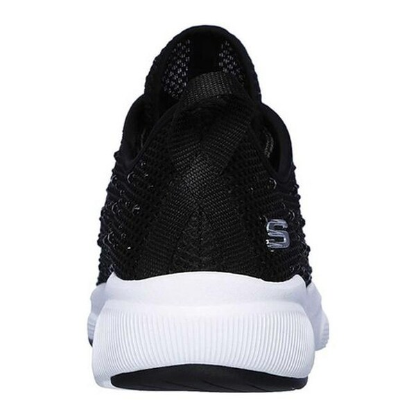 Shop Skechers Women's Meridian Intentful Sneaker BlackWhite