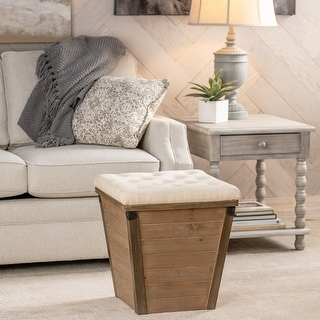 Link to Sophia Square Storage Ottoman Similar Items in Living Room Furniture