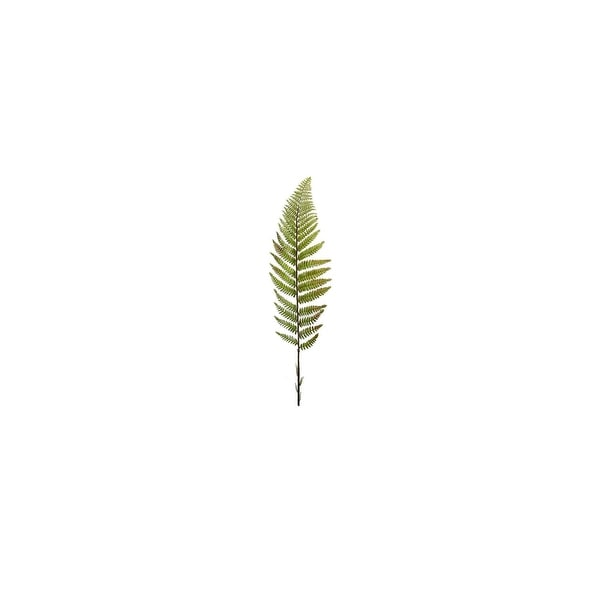 """Club Pack of 24 Green Artificial Fern Stems 40"""""""