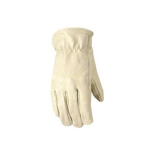 Wells Lamont 1133M Leather Work Gloves, Medium