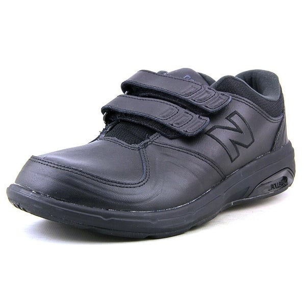 New Balance WW813 Women  Round Toe Leather Black Walking Shoe