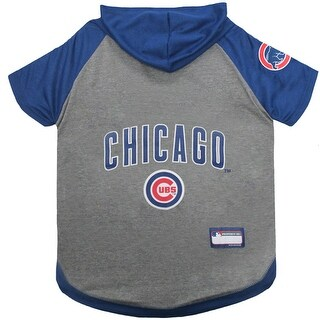 MLB Chicago Cubs Pet Hoodie T-Shirt