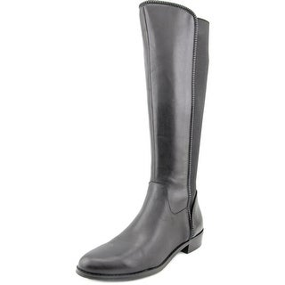Tahari Ricky Round Toe Leather Knee High Boot