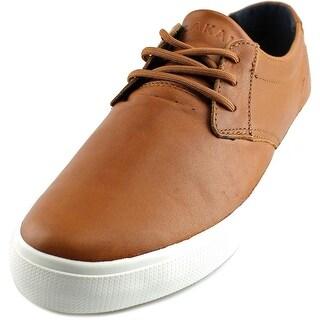Lakai MJ Men Round Toe Leather Tan Skate Shoe