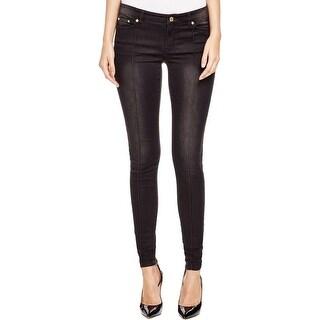MICHAEL Michael Kors Womens Skinny Jeans Zip Ankle Stretch