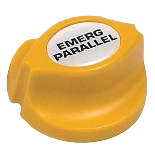 BEP Emergency Parallel Battery Knob Yellow Easy Fit
