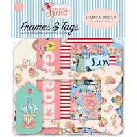 Frames & Tags - Practically Perfect Cardstock Die-Cuts 33/Pkg
