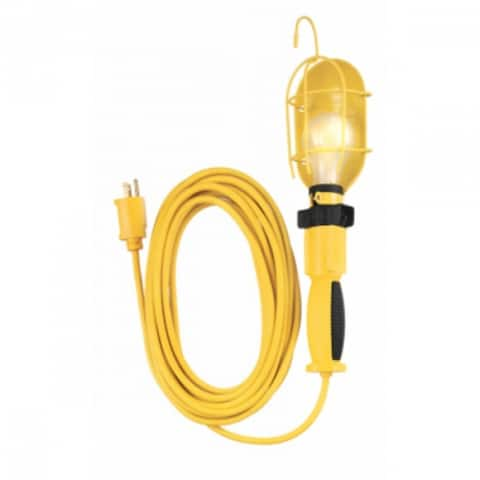 Yellow Jacket 2891 Utility Trouble Light, Yellow, Oil & Chemical Resistant
