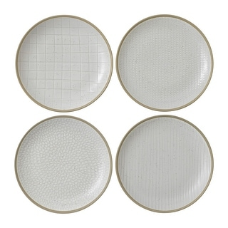 "Link to Maze Grill White Salad Plate 9"" Set/4 Mixed Similar Items in Dinnerware"