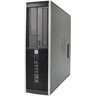 "HP Compaq 6200 Pro SFF Standard Refurb PC - Intel i5 2400 2nd Gen 3.1 GHz 4GB DIMM DDR3 SATA 3.5"" 750GB DVD-ROM Windows 10 Home"