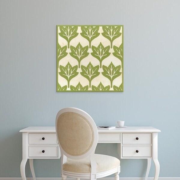 Easy Art Prints June Erica Vess's 'Cottage Leaves IV' Premium Canvas Art