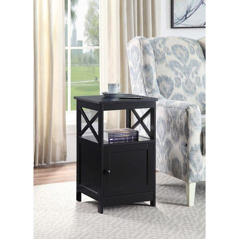 Copper Grove Kremenchuk End Table with Cabinet