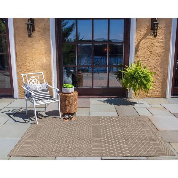 Polypropylene Indoor Outdoor Area Rug