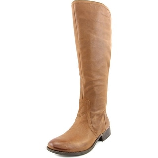 Jessica Simpson Randee Wide Calf Women Round Toe Leather Knee High Boot