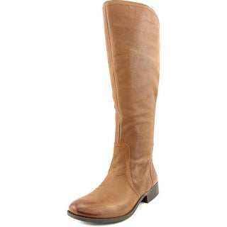 Jessica Simpson Randee Wide Calf Women  Round Toe Leather  Knee High Boot