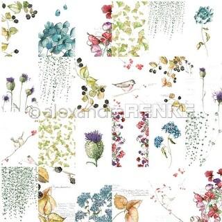 "Autumn - Alexandra Renke Flowers Paper 12""X12"" (25/Pack)"