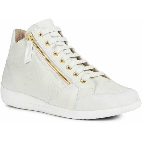 Geox Womens/Ladies Myria Leather Sneakers