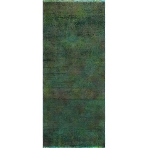 """Noori Rug Vintage Aldora Drk. Grey/Charcoal Runner - 2'7"""" x 5'11"""""""